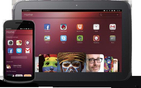 Ubunut OS-Tablet-smartphone