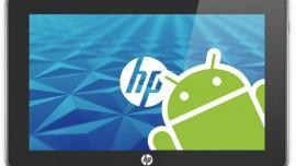 HP lavora ad un tablet con sistema operativo Android