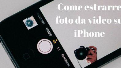 Come estrarre foto da un video su iPhone