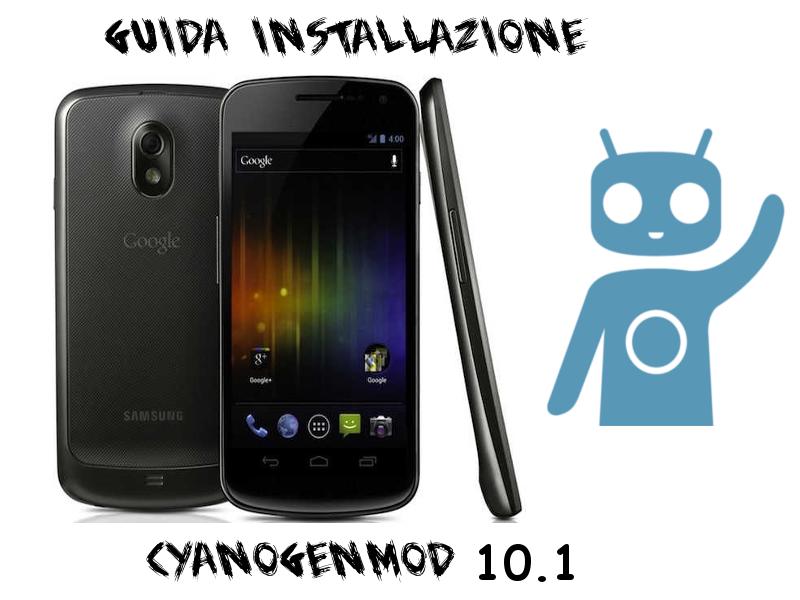 Galaxy-nexus-CM10.1