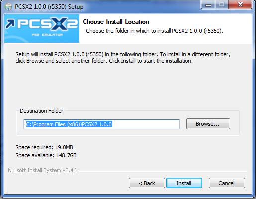 Installazione PCSX 2