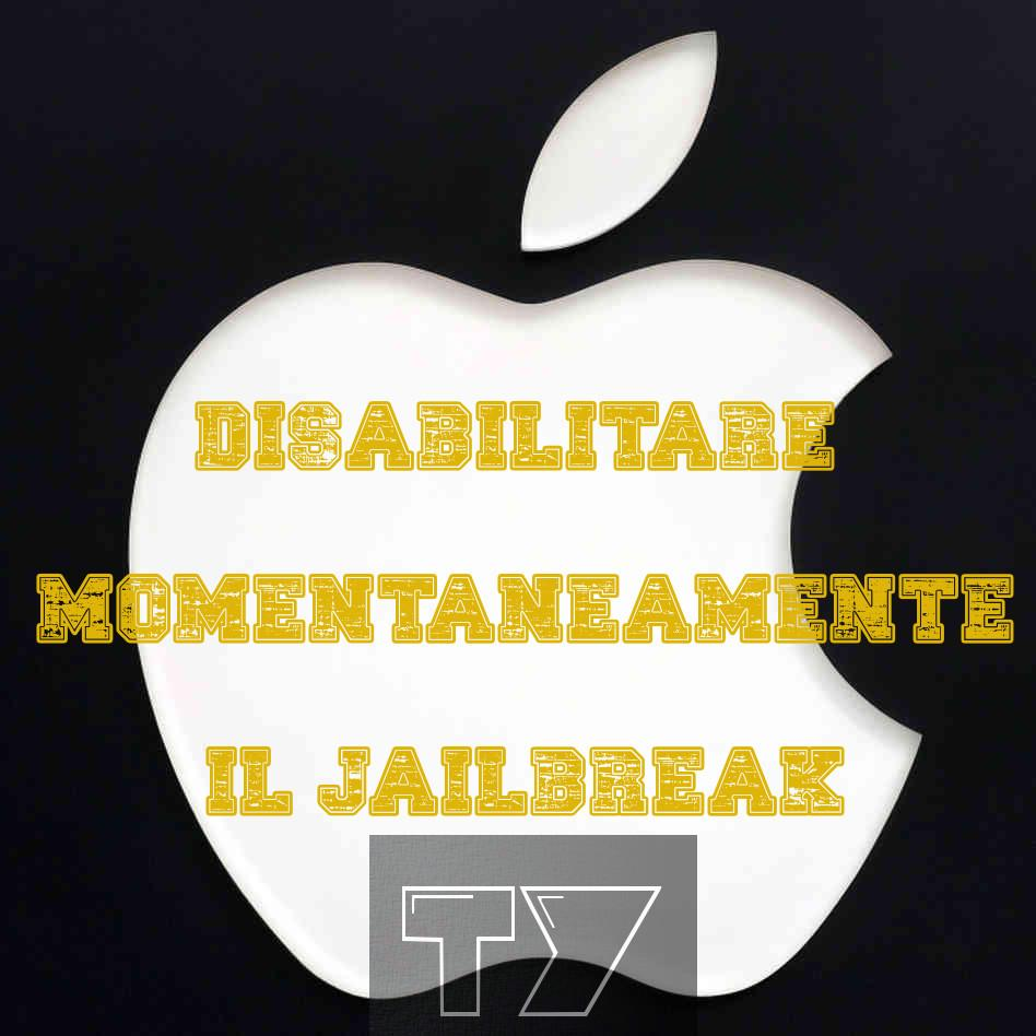 disabilitare il Jailbreak all'avvio dell'iPhone