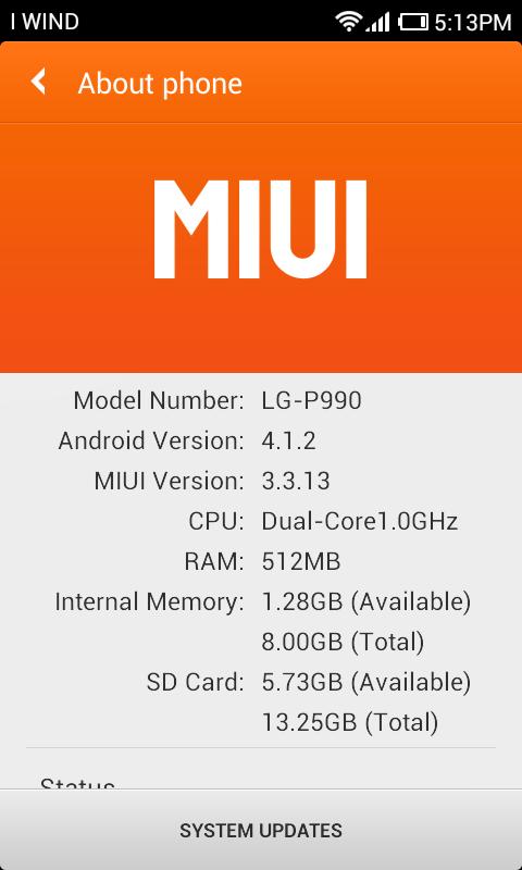 MIUI-LG Optimus-Dual-info