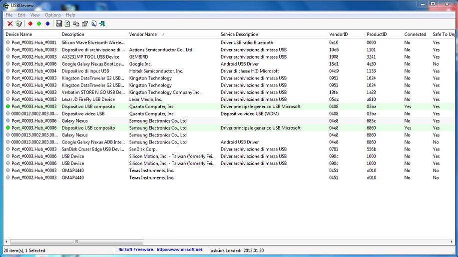 Nexus-Root-Toolkit-USBDeview