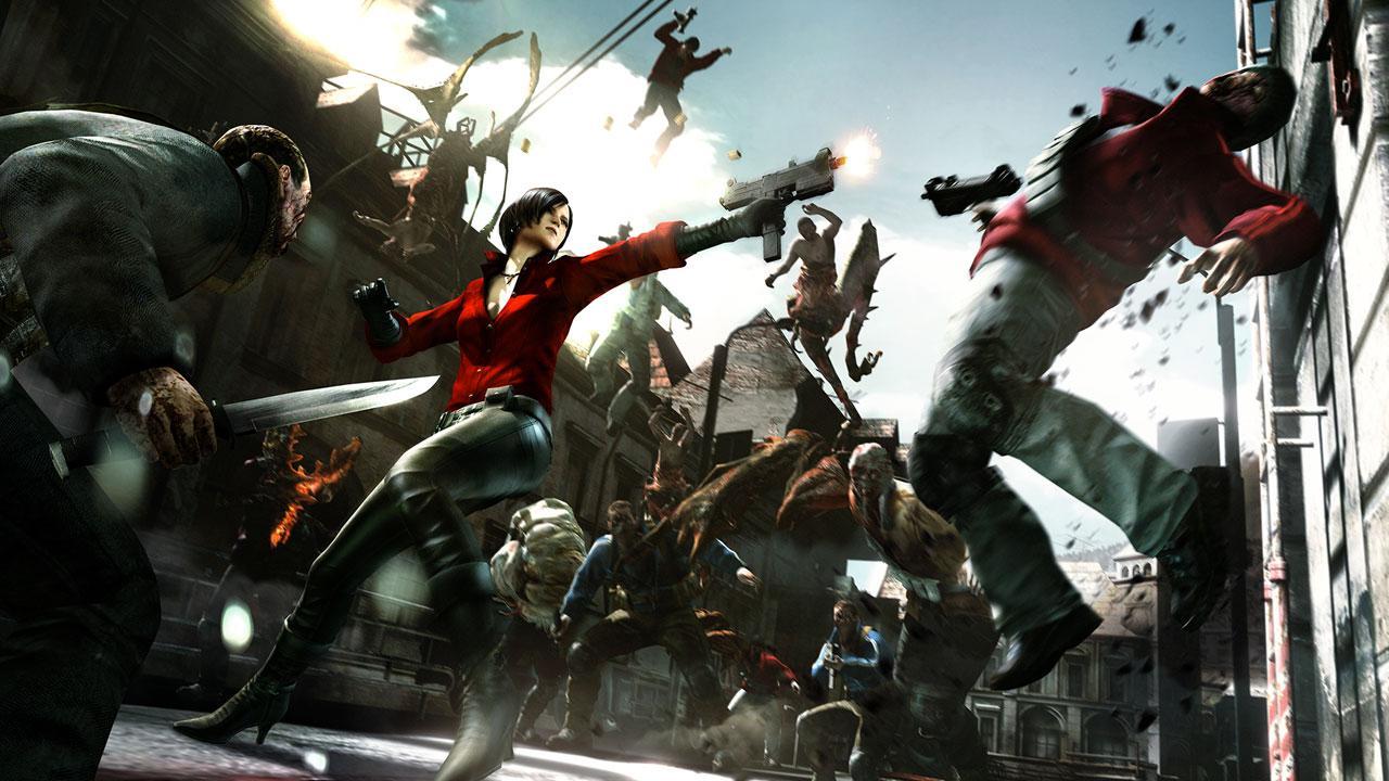 Resident Evil 6 gameplay Ada