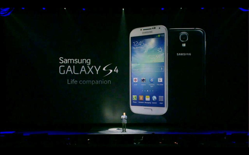 Galaxy S4 presentazione