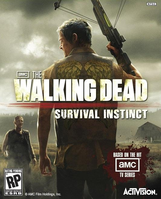 The Walking Dead Survival Instinct Cover
