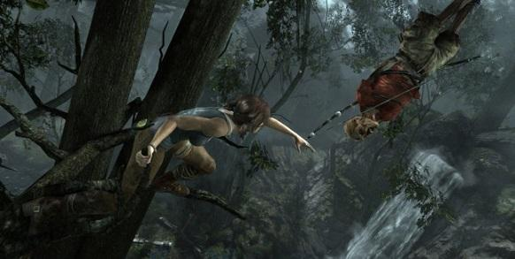 Tomb Raider gameplay esplorazione