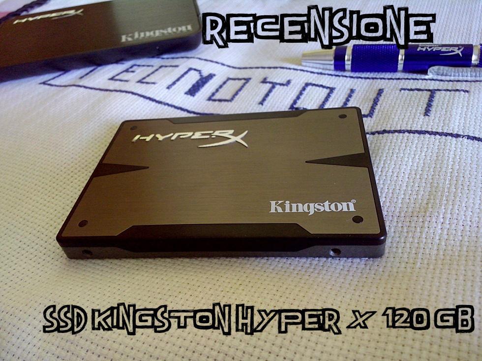 Recensione dell'SSD Kingston HyperX 3K 120 Gb