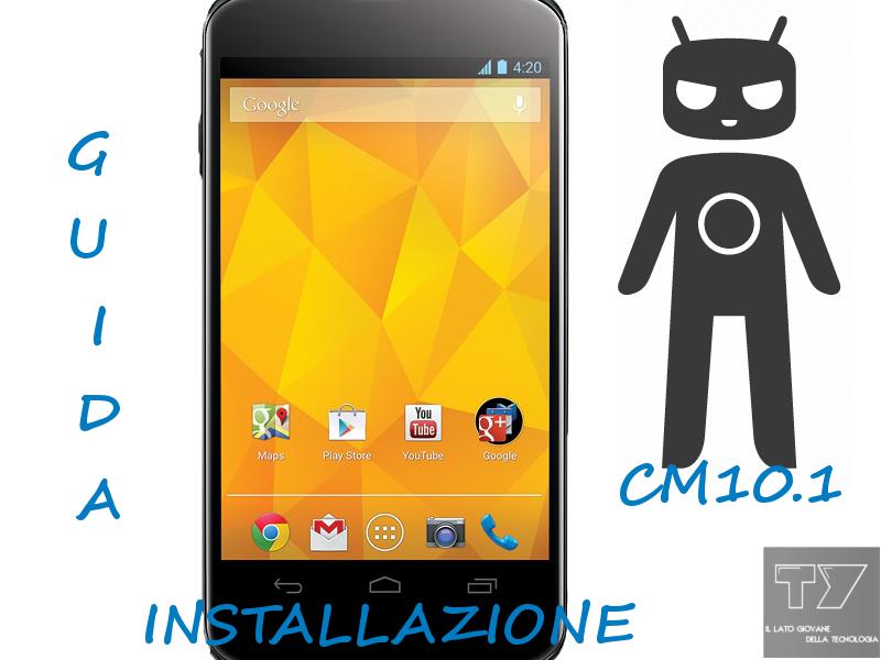 Google-Nexus-4-CM10.1