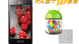 LG Optimus L5 II: Android Jelly Bean 4.1.2 brand Fastweb V10F