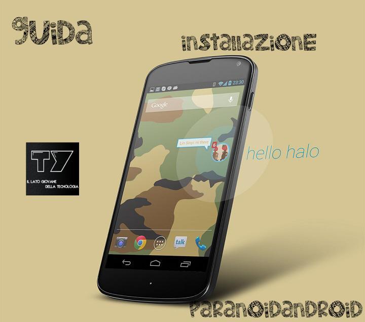 ParanoidAndroid Google Nexus 4