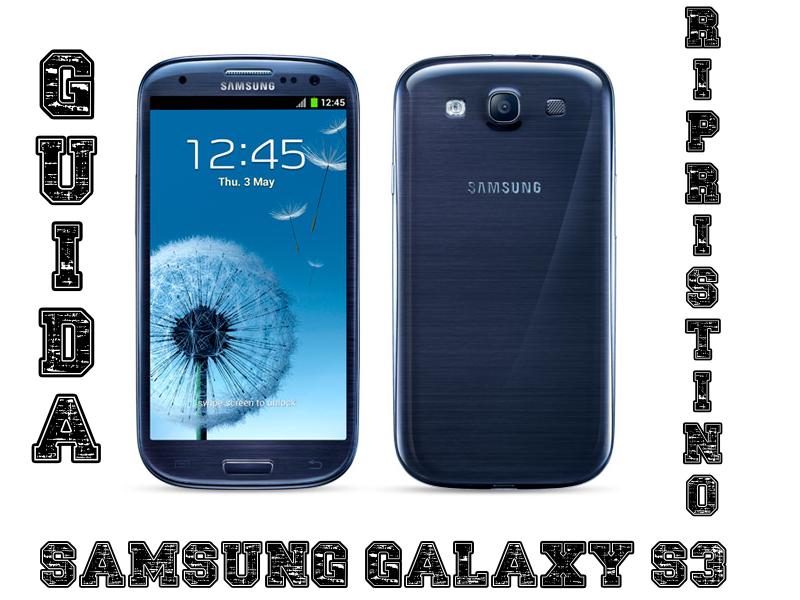 Ripristino-Samsung-Galaxy-S3