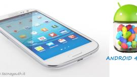 Android 4.2.2 arriverà a Luglio sul Samsung Galaxy S3?