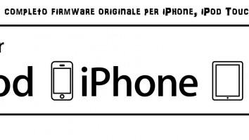 Guida per Ripristino completo firmware originale per iPhone, iPod Touch e iPad con iTunes