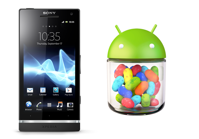 Sony Xperia S Jelly Bean