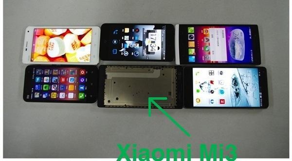 Xiaomi Mi3 leaked