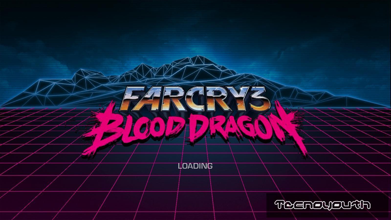 Far Cry 3 Blood Dragon Start