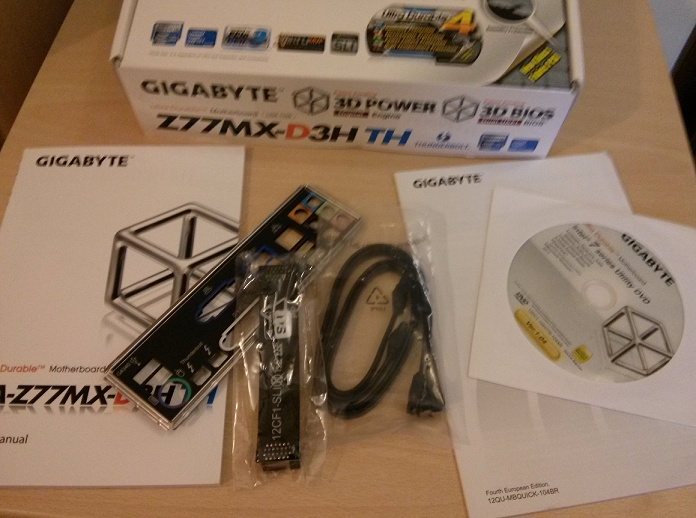 Bundle- Gigabyte Z77