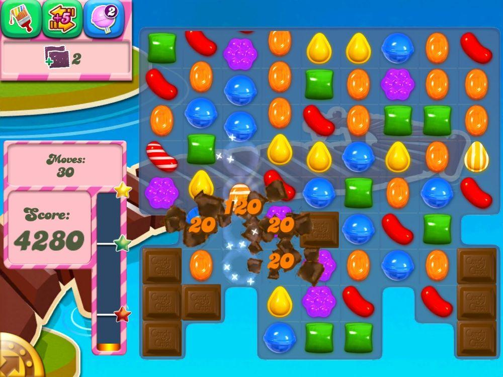 Candy Crush Saga screen