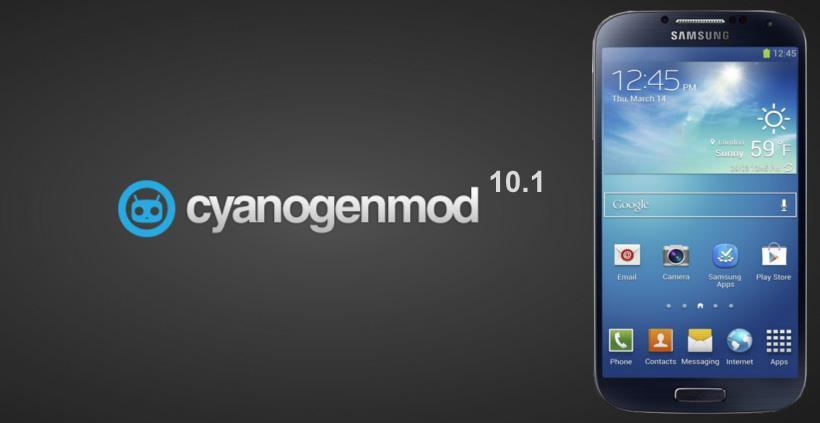 CyanogenMod-10.1-Galaxy-S4