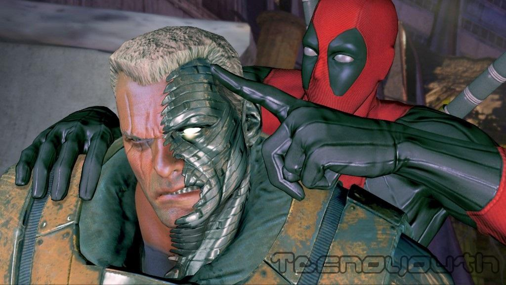 Deadpool Cable Screenshot