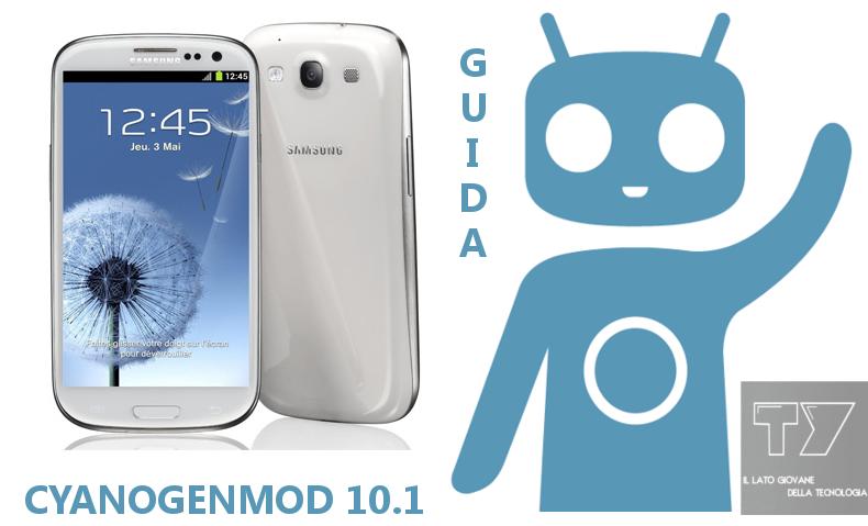 Galaxy S3 CM 10.1