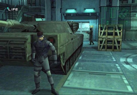 Metal Gear Solid Gameplay
