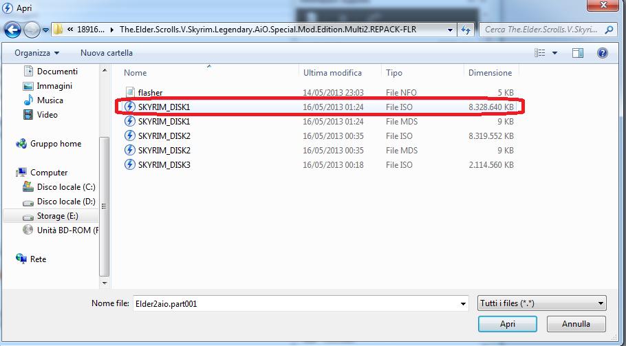 Lettore File ISO