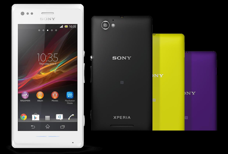 Sony Xperia M colorazioni