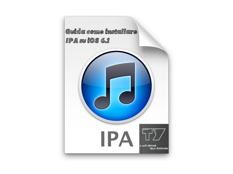 Come installare IPA su iOS 6.1