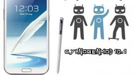CyanogenMod-10.1-Galaxy-Note-2