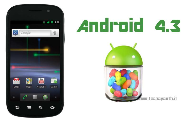 Google Nexus S Android 4.3
