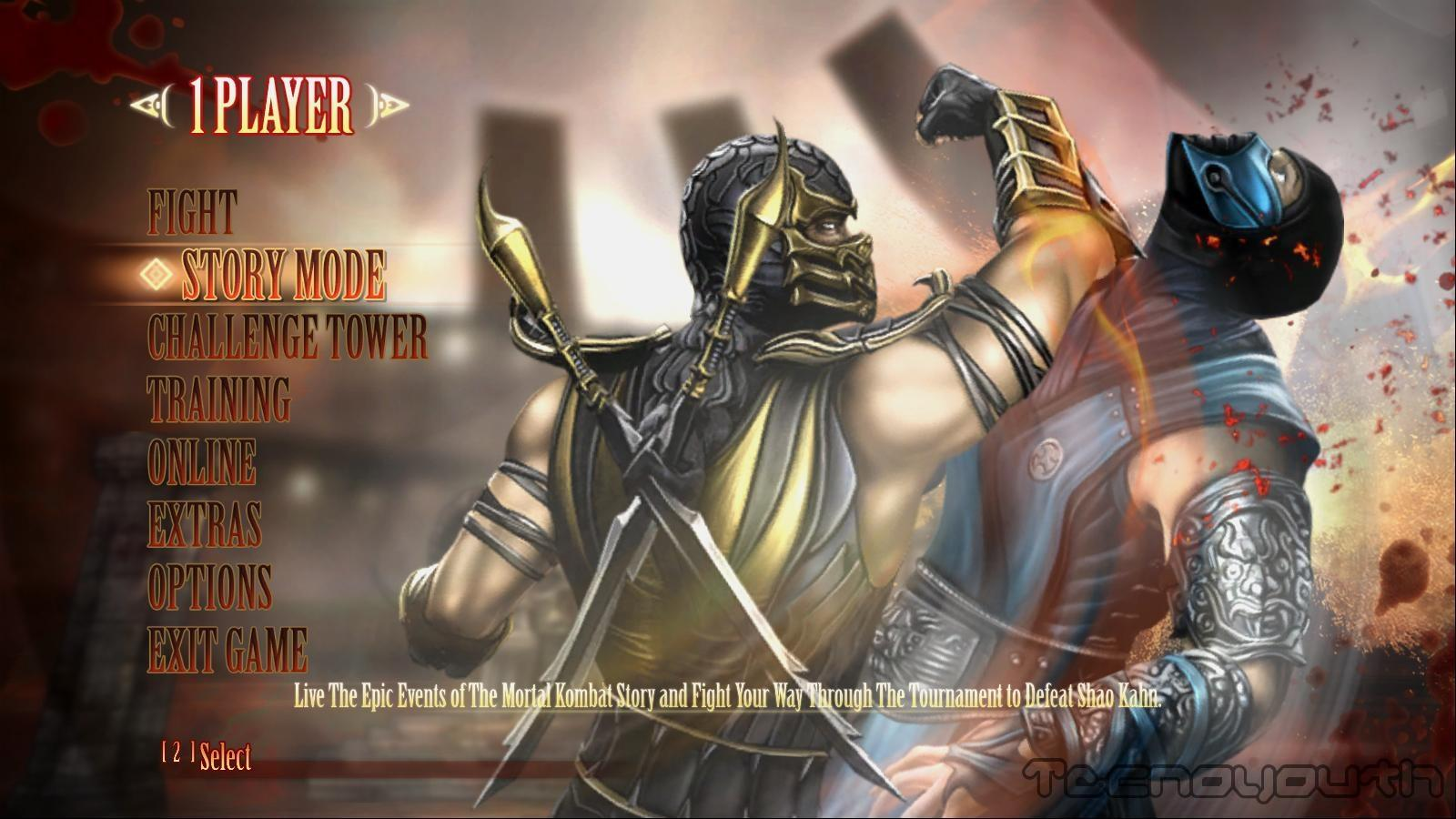 Mortal Kombat Komplete Edition Screen 3