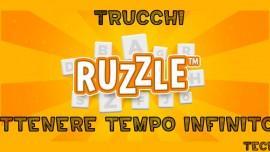 Trucchi Ruzzle come avere tempo infinito
