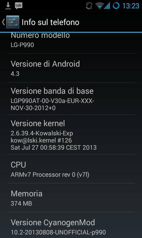 LG Optimus Dual CM10.2 TonyP