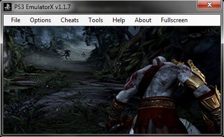 PS3 Emulator GoW III