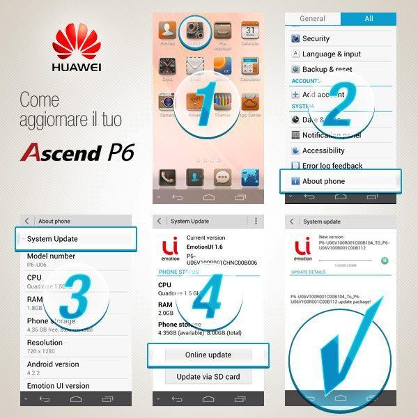 Huawei-Ascend-P6-update