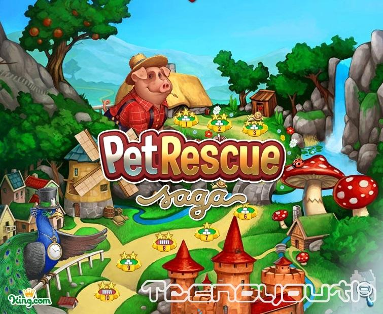 Pet Rescue Saga-vite infinite-trucchi