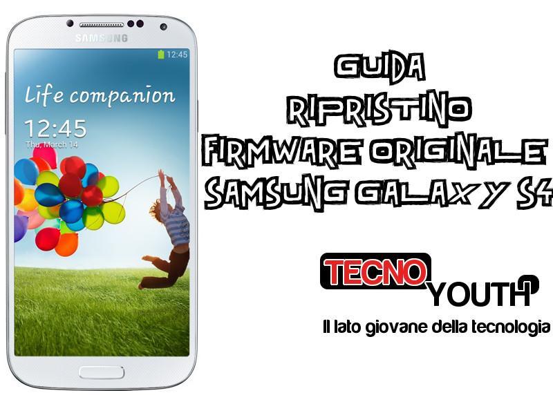 Ripristino Samsung Galaxy S4