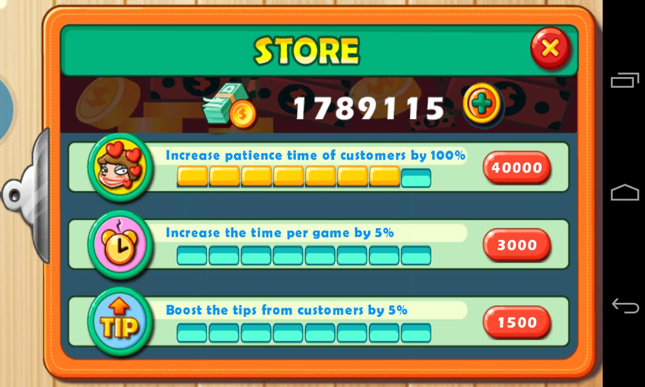 Star Chef-Screenshot-denaro infinito-trucco