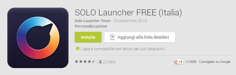 Solo-Launcher