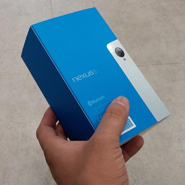 confezione Google Nexus 5
