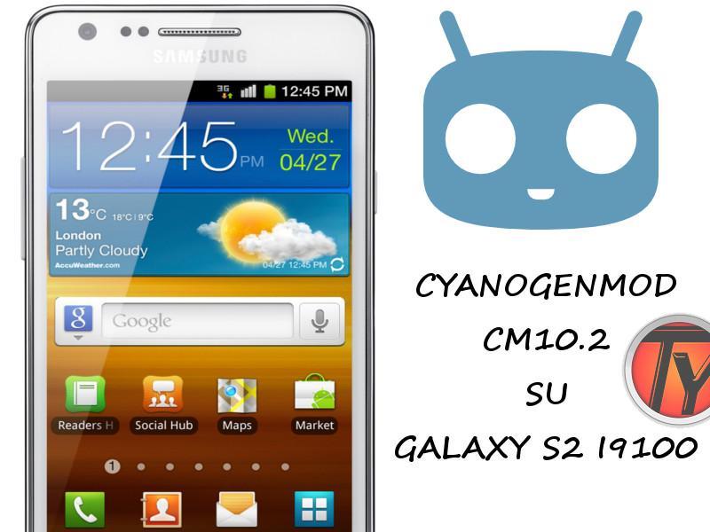 Galaxy S2 CM 10.2