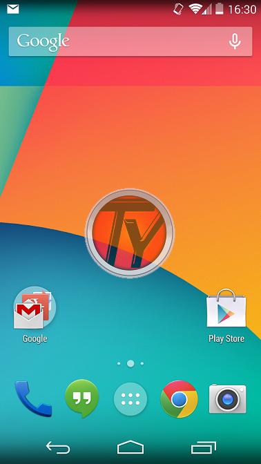 Google Nexus 5-barre trasparenti-Launcher Nexus 5