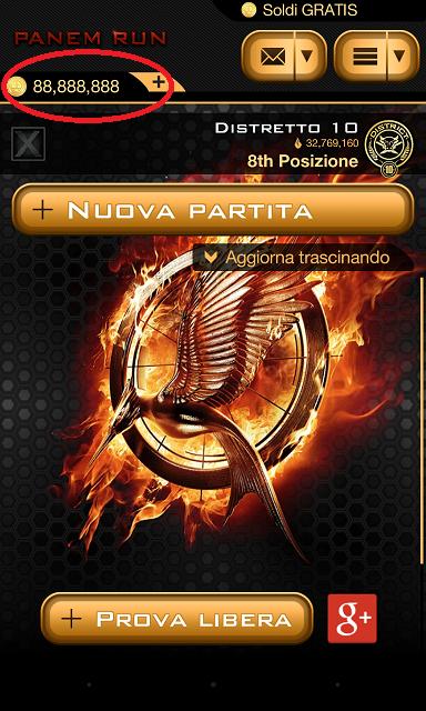 Trucchi Panem Run Hunger Games