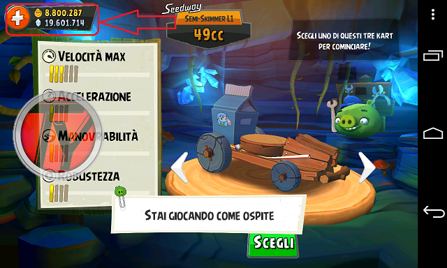 Angry Birds Go!-trucchi-screenshot