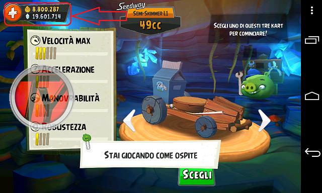 Angry Birds Go!-trucchi-screenshot