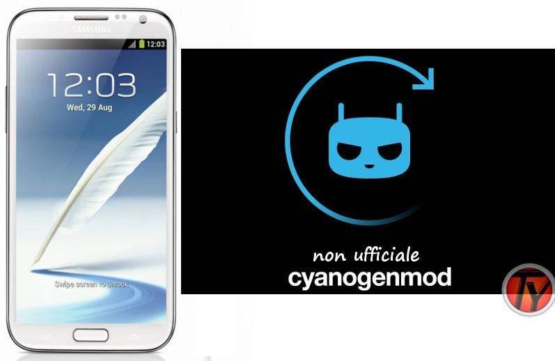 Galaxy Note 2 CM 11