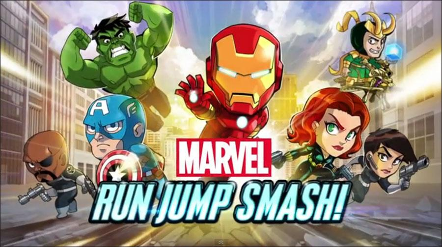 Marvel Run Jump Smash-news-giochi-Android